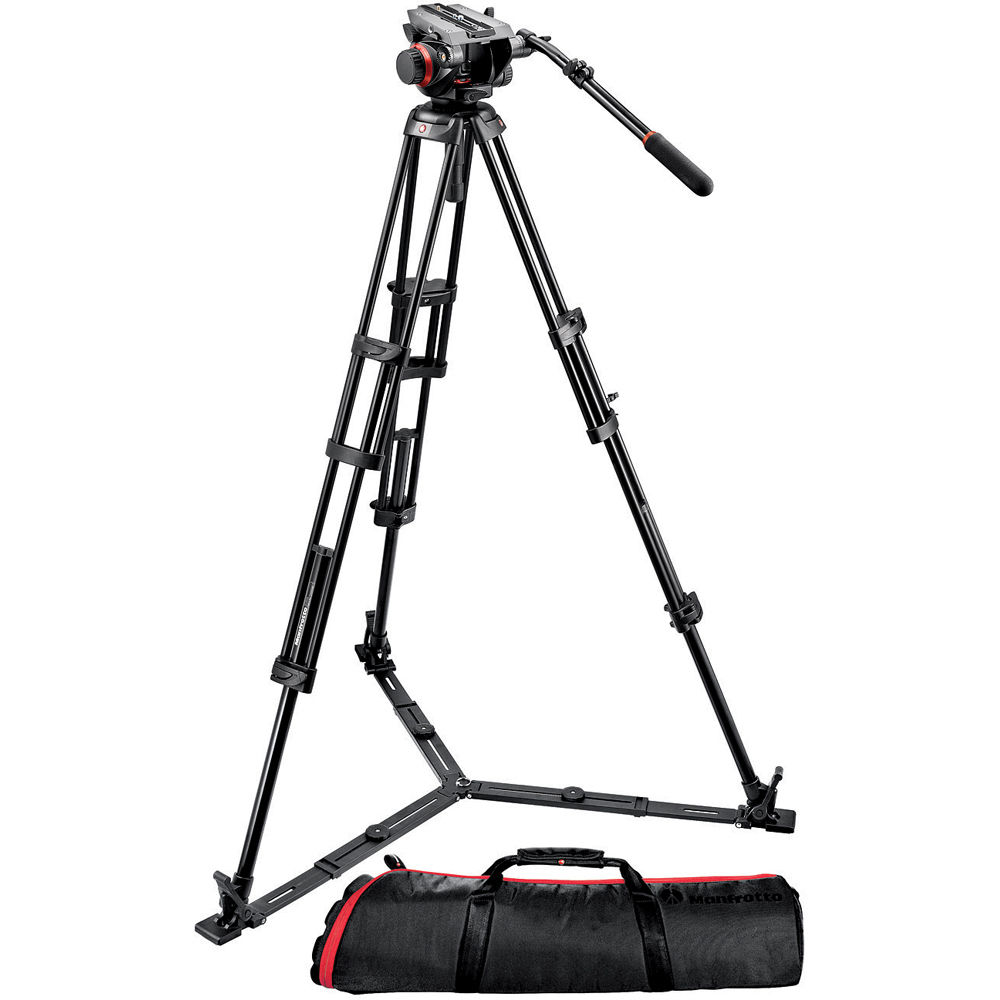 MANFROTTO 504HD Kit with 546GB Video Tripod (7.5 kg)