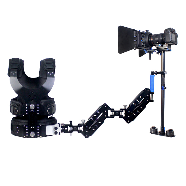CAME S-120 CARBON FIBER STEADYCAM KIT CAME 403 VEST + DOUBLE ARM ( 1Kg - 7 Kg )