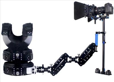 CAME S-60 CARBON FIBER STEADYCAM KIT + CAME 403 VEST With DOUBLE ARM ( 1 Kg - 3 Kg )