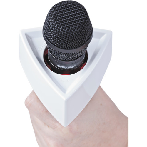 RYCOTE TRIANGLE MIC FLAG ( WHITE / BLACK )