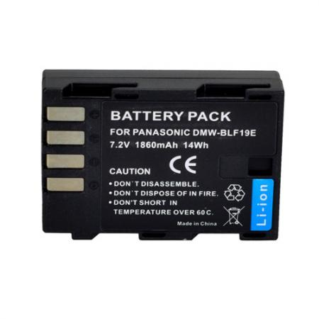 Digital Power DMW-BLF19 Li-Ion Panasonic GH5 / GH4 Battery Replacement 1860 mAh