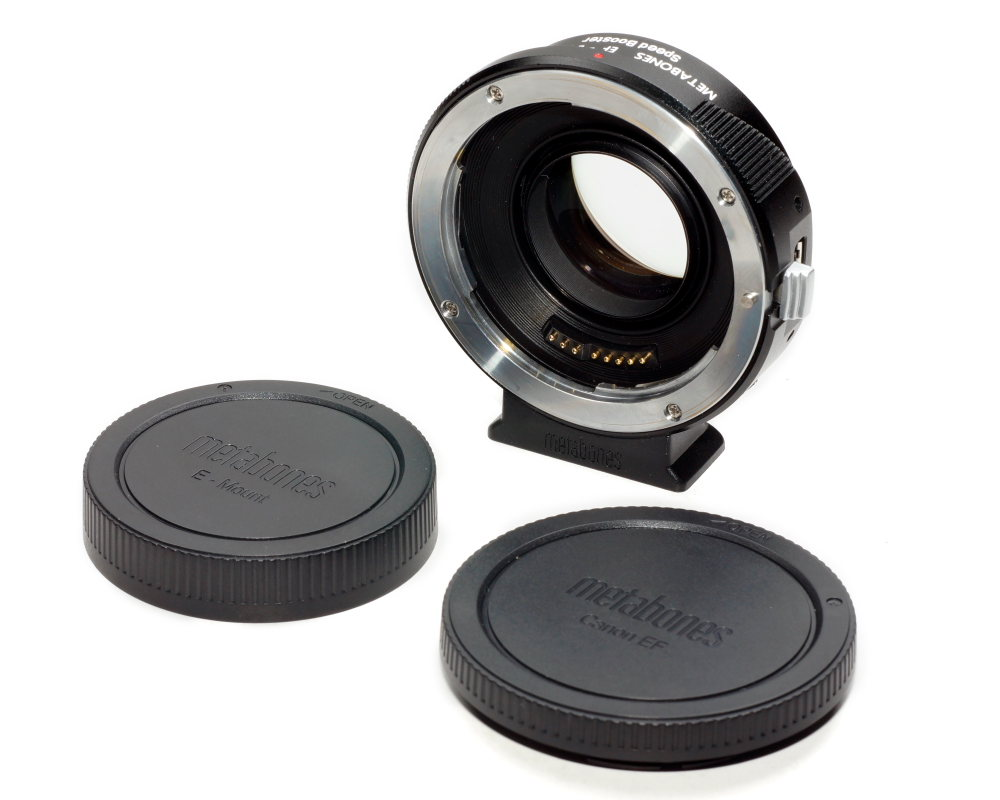 METABONES SPEED BOOSTER ULTRA II  0.71X ADAPTER CANON EF to SONY E-Mount