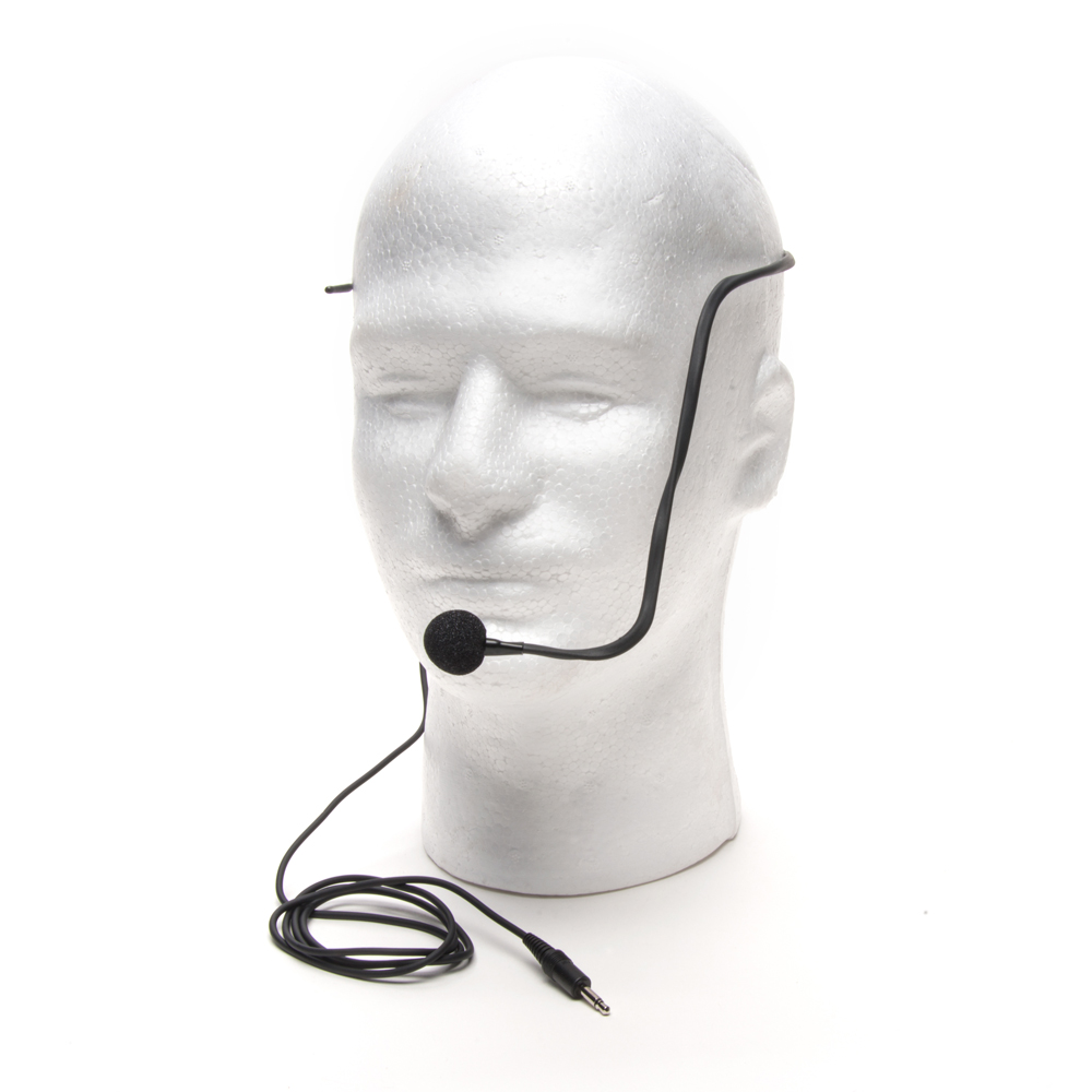 AZDEN HS-9 HEADSET with OMNI DIRECTIONAL BOOM MIC