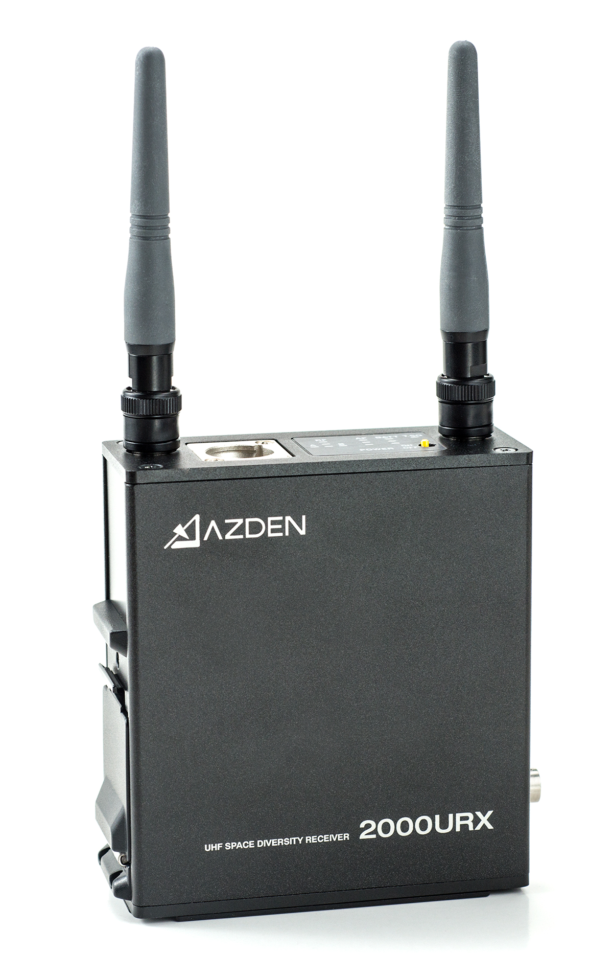 AZDEN 2000URX ( 2000 URX ) UHF TRUE DIVERSITY CAMERA WIRELESS RECEIVER  EFP / ENG