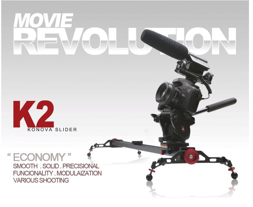 KONOVA ECONOMY DSLR SLIDER K2 60cm Dolly Track