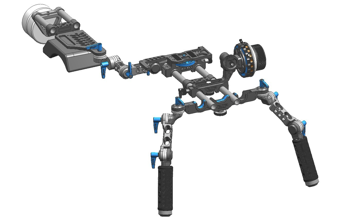 TILTA III SHOULDER RIG FOLLOW FOCUS KIT B for HDSLR  / BLACKMAGIC