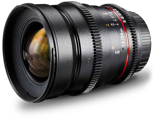 SAMYANG 24mm T1.5 ED AS AF IF UMC CANON VDSLR LENS