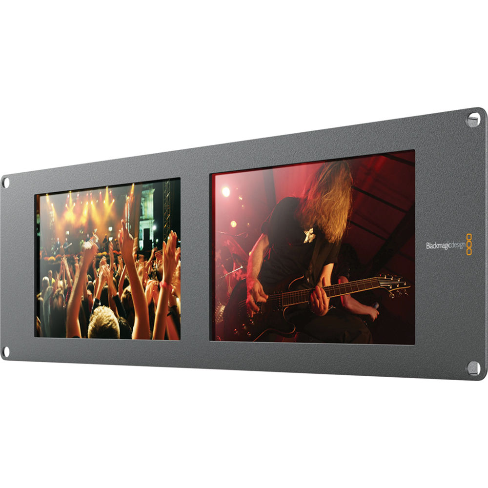 Blackmagic Design SmartView Duo 2 Dual 8 inch Monitors (BM-HDL-SMTVDUO2)