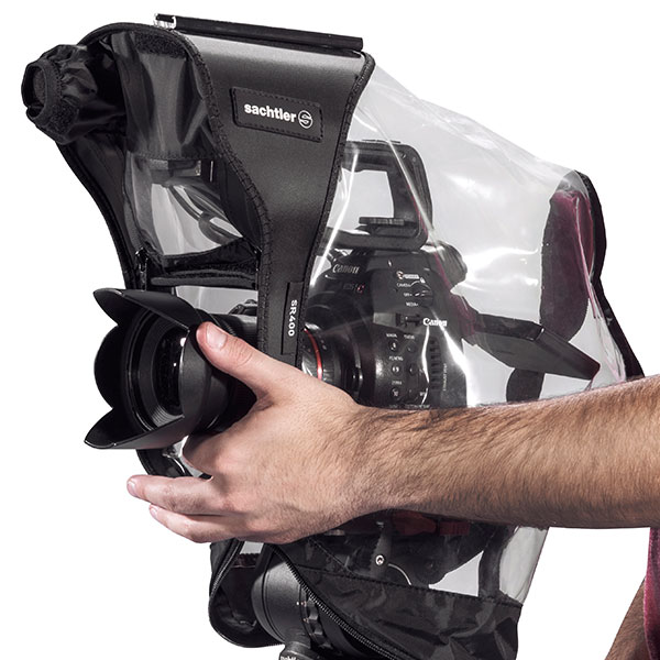 SACHTLER SR400 RAIN COVER For HD-DSLR / CANON C100 / BLACKMAGIC CINEMA CAMERA