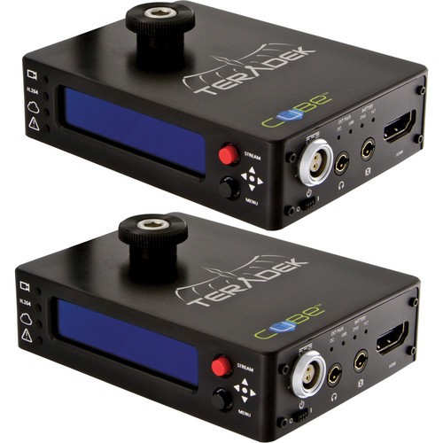 TERADEK CUBELET 205/405 1-CHANNEL HDMI ENCODER / DECODER KIT SYSTEM