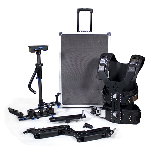 CAME S-100 PRO CARBON FIBER +VEST + DOUBLE ARM ( 6 Kg - 15 Kg ) + CASE