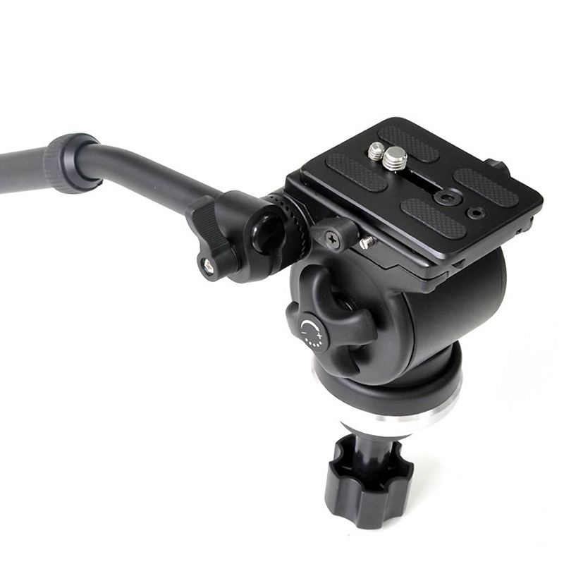 E-IMAGE EI-717H FLUID TRIPOD HEAD with 75mm BALL (0 - 6 kg)