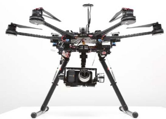 DJI Zenmuse Z15-BMPCC(Blackmagic Pocket Cinema Camera) Gimbal.
