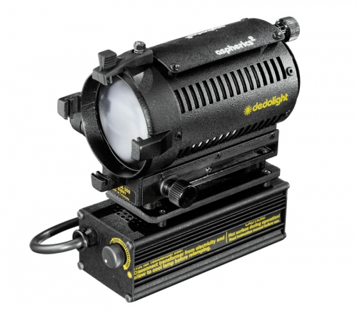 DEDOLIGHT DLHM4-300 ( DLHM4 300 ) FOCUSING LIGHT HEAD With DIMMABLE POWER SUPPLY