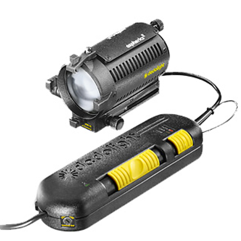 DEDOLIGHT DLH4 150W SPOTLIGHT With DT24-1 DIMMING POWER SUPPLY