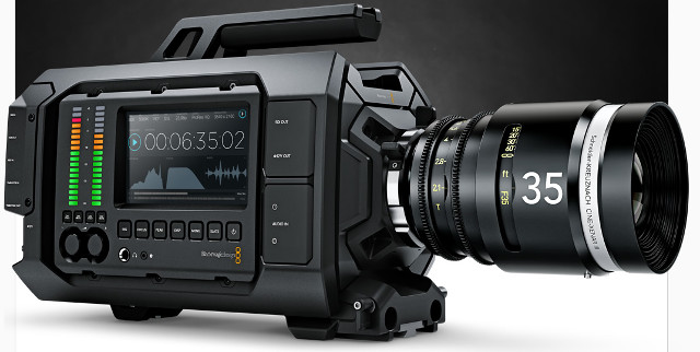 Blackmagic Design URSA 4K Digital Cinema Camera PL Mount ( BM-CINECAMURSA4K/PL )