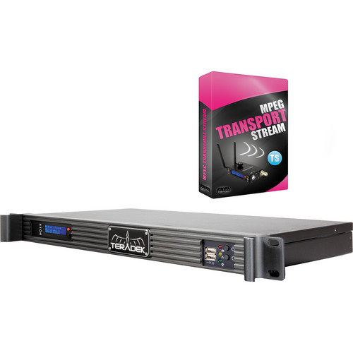 TERADEK SLICE 166 RACK MOUNT HD-SDI H.264 PROFESSIONAL ENCODER