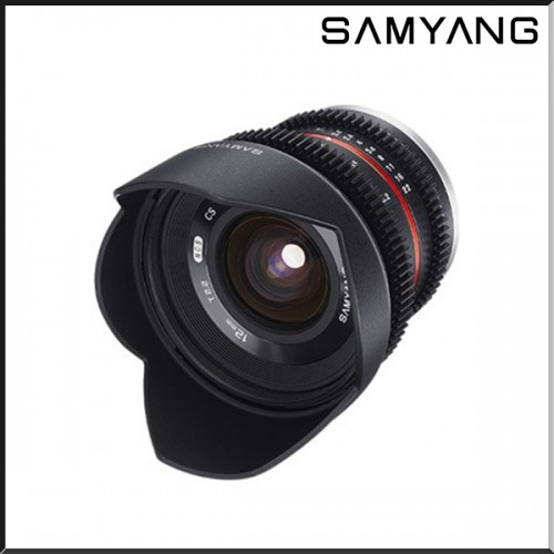 SAMYANG 12mm T2.2 VDSLR CINE LENS For MFT ( MICRO 4/3 )
