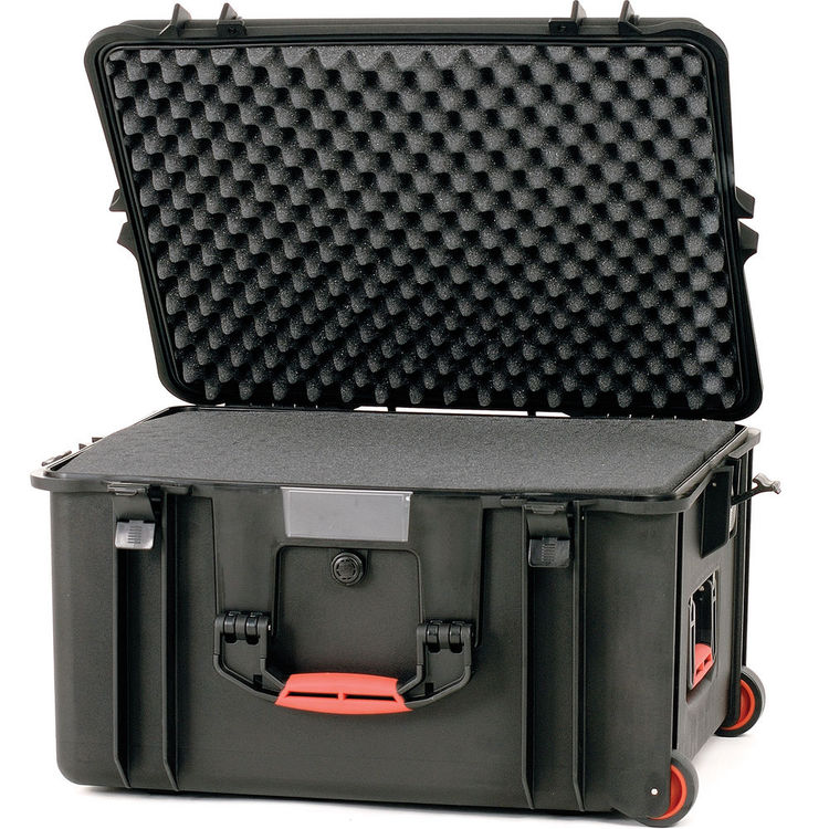 HPRC 2730W WATERPROOF WHEELED HARD CASE WITH CUBED FOAM INTERIOR