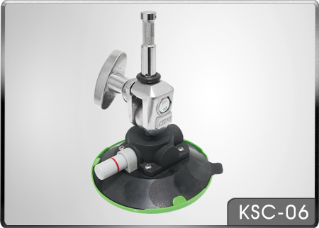 KUPO KSC-06 VACUUM PUMPING SUCTION CUP WITH SWIVEL BABY PIN 20 KG PAYLOAD