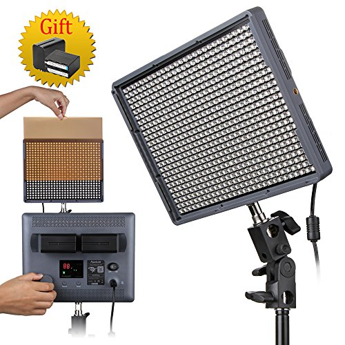 APUTURE AMARAN HR672W LED PANEL CRI+95 + WIRELESS REMOTE + 2 X NP-F970 + BAG