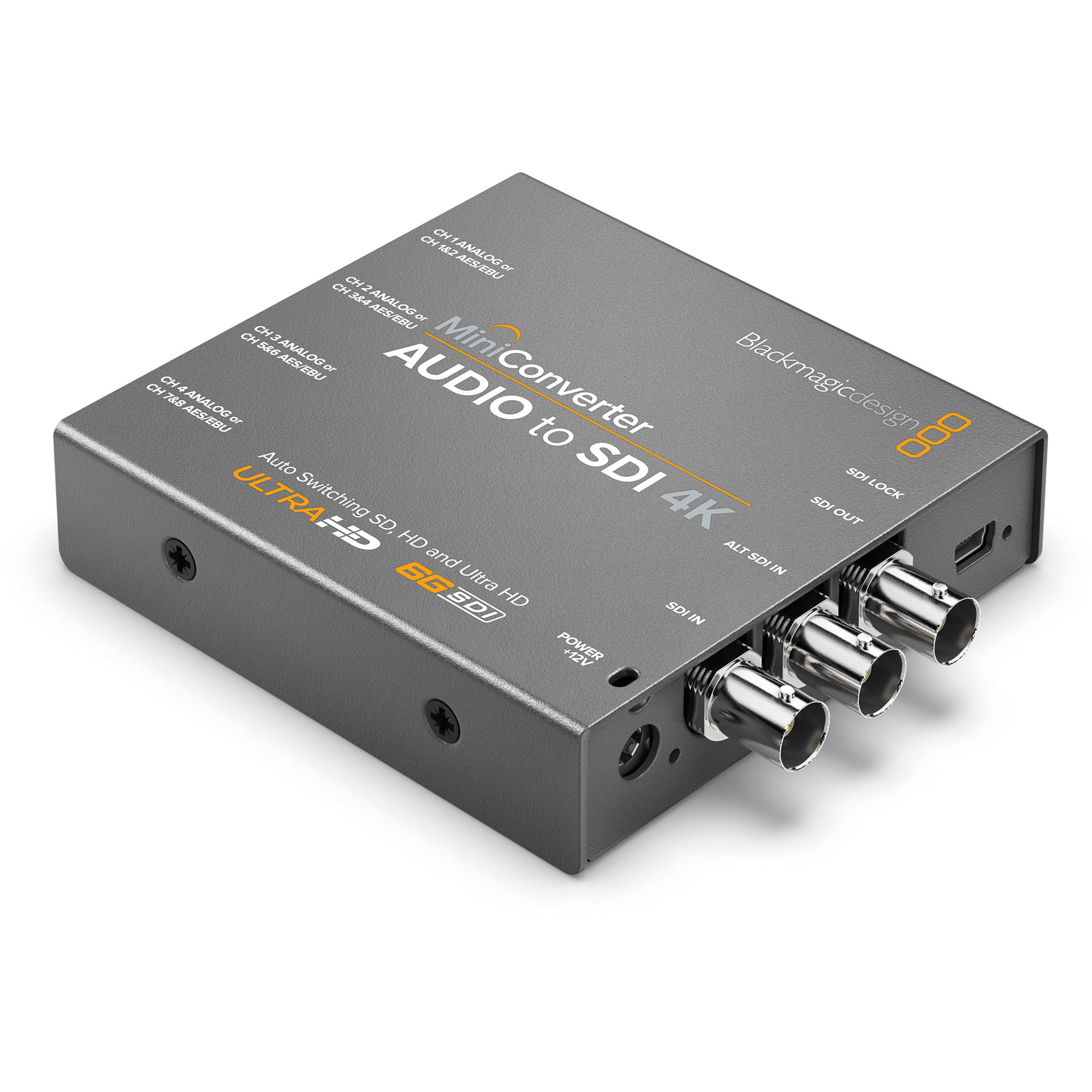 Blackmagic Design Mini Converter Audio to SDI 4K (BM-CONVMCAUDS4K)