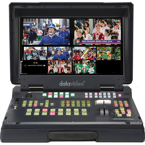 DATAVIDEO HS-2200 MOBILE STUDIO With 4 X HD-SDI And 2 X HDMI INPUTS / OUTPUTS + INTERCOM SYSTEM