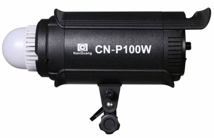 CN-P100W CRI>95 LED WIRELESS STUDIO SPOT LIGHT FOR VIDEO / PHOTO