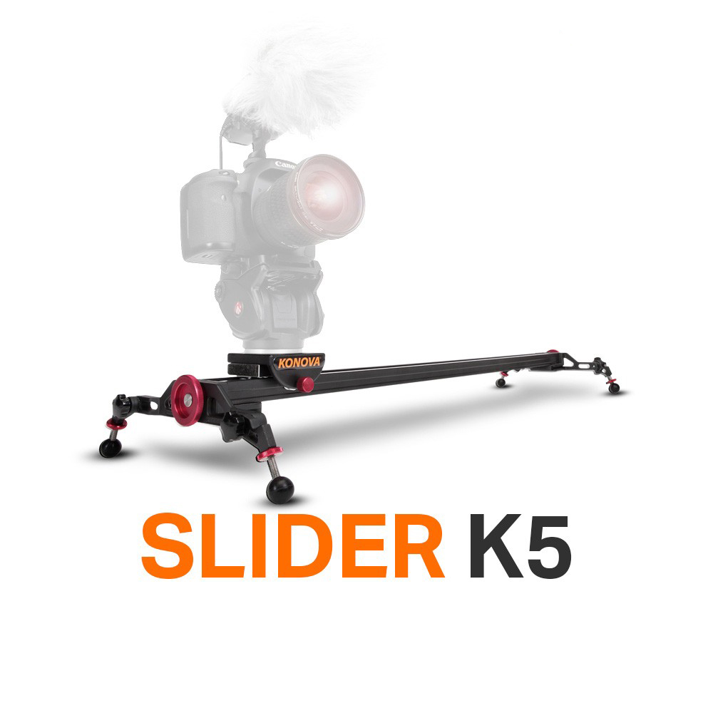 KONOVA K5 60 cm SUPER HEAVY DUTY SLIDER DOLLY TRACK