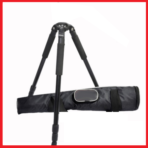 JY0509 CARBON FIBER VIDEO TRIPOD LEGS 1.8 M / 75 MM BOWL