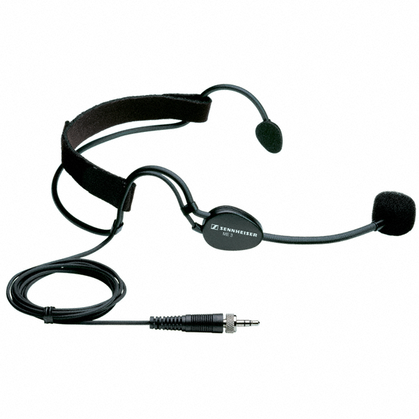 SENNHEISER ME3-EW SUPER CARDIOID HEADWORN MIC FOR WIRELESS SYSTEMS