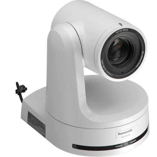 Panasonic AW-HE130 HD Integrated Multiformat Camera (White)