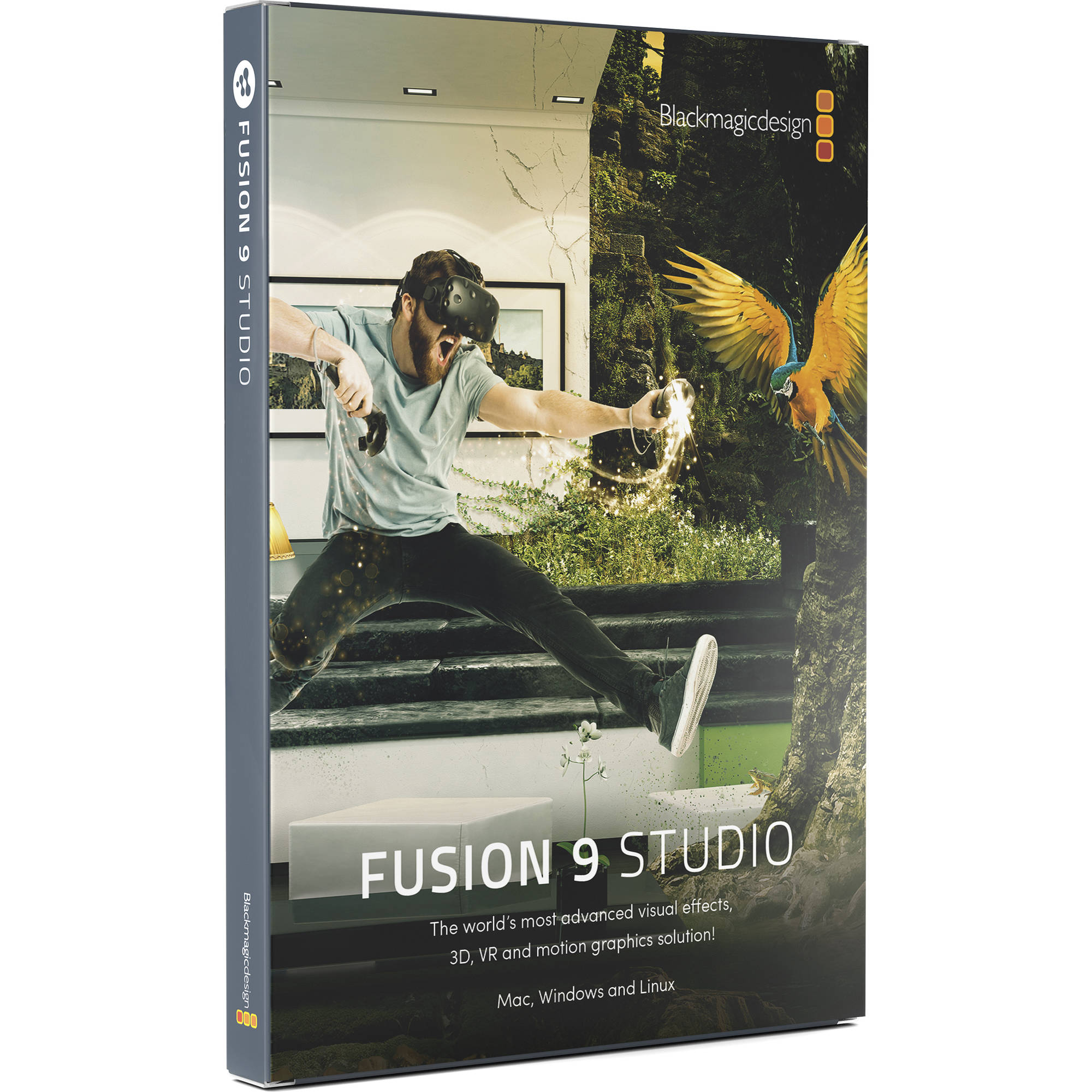 Blackmagic Design Fusion 9 Studio for Mac and Windows (BM-DV/STUFUS)