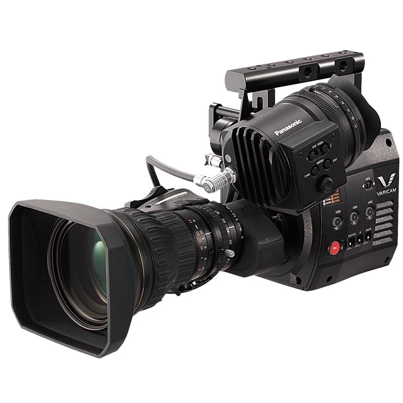 PANASONIC AU-V23HS1G VARICAM HighSpeed 2/3 HD BROADCAST CAMERA