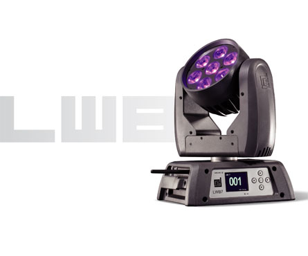 RED Lighting LWB 7 E LED Moving Light