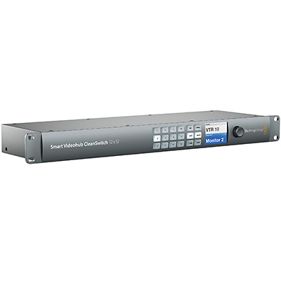 Blackmagic Smart Videohub CleanSwitch 12x12 ( BM-VHUBSMTCS6G1212 )