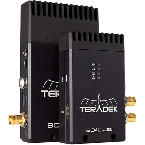 TERADEK BOLT Pro 300 3G-SDI Wireless Transmitter + Receiver Set