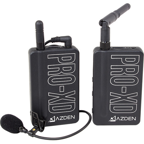 AZDEN PRO-XD FILMMAKER 2.4GHz DIGITAL WIRELESS SYSTEM + EX-503XD Lavalier