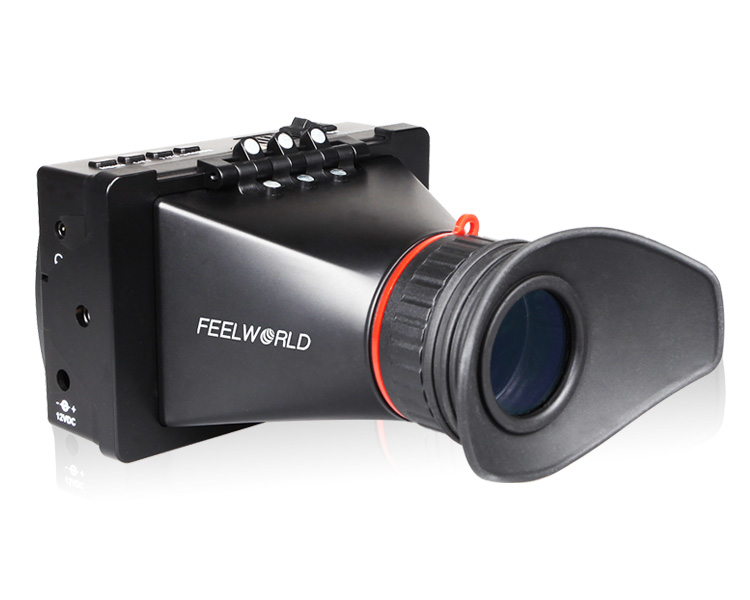 FEELWORLD S-350 ( S350 ) 3.5 Inch PRO EVF Electronic View Finder With SDI + HDMI Interfaces
