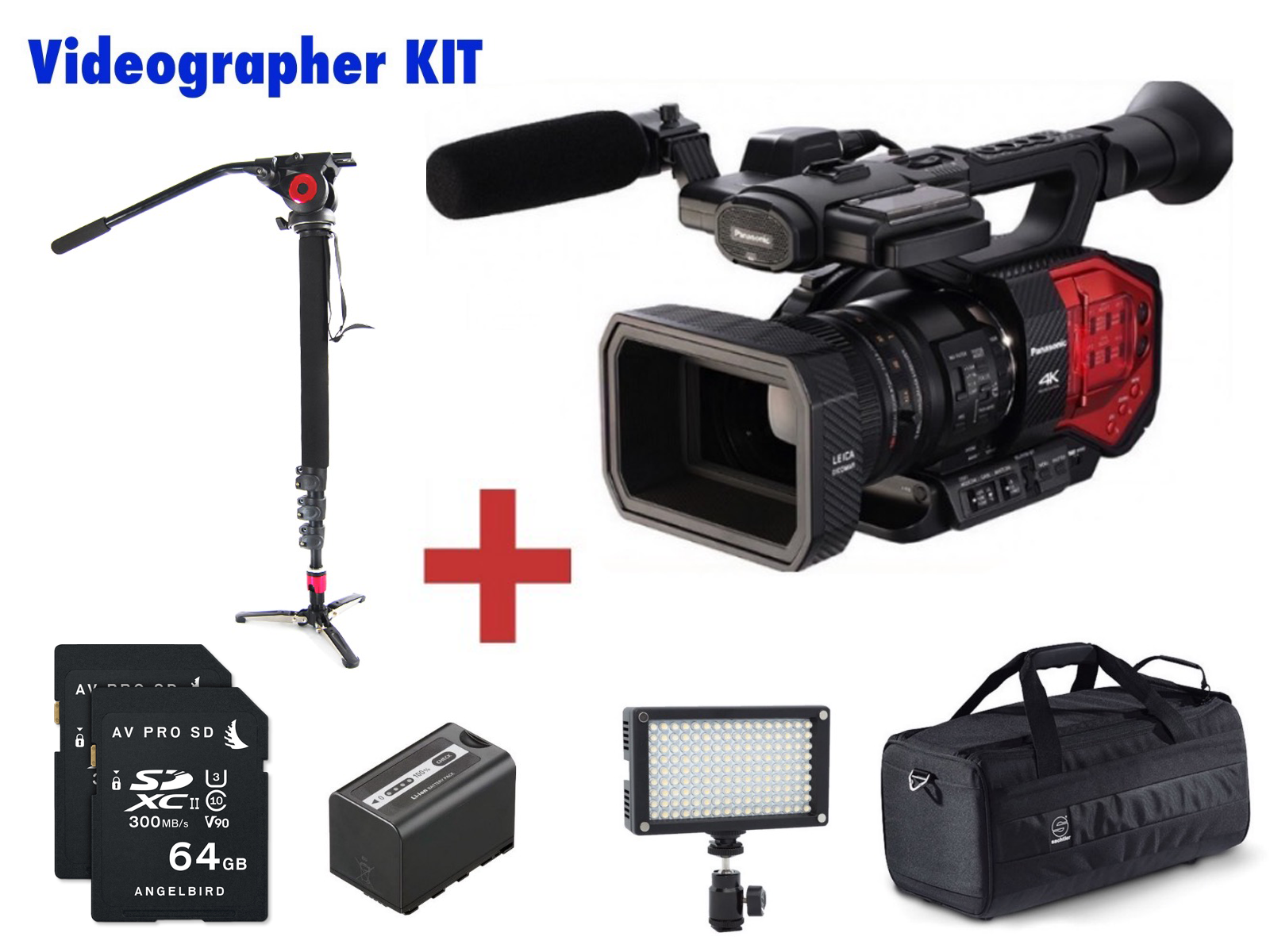 PANASONIC  AG-DVX200 (DVX200) VIDEOGRAPHER KIT