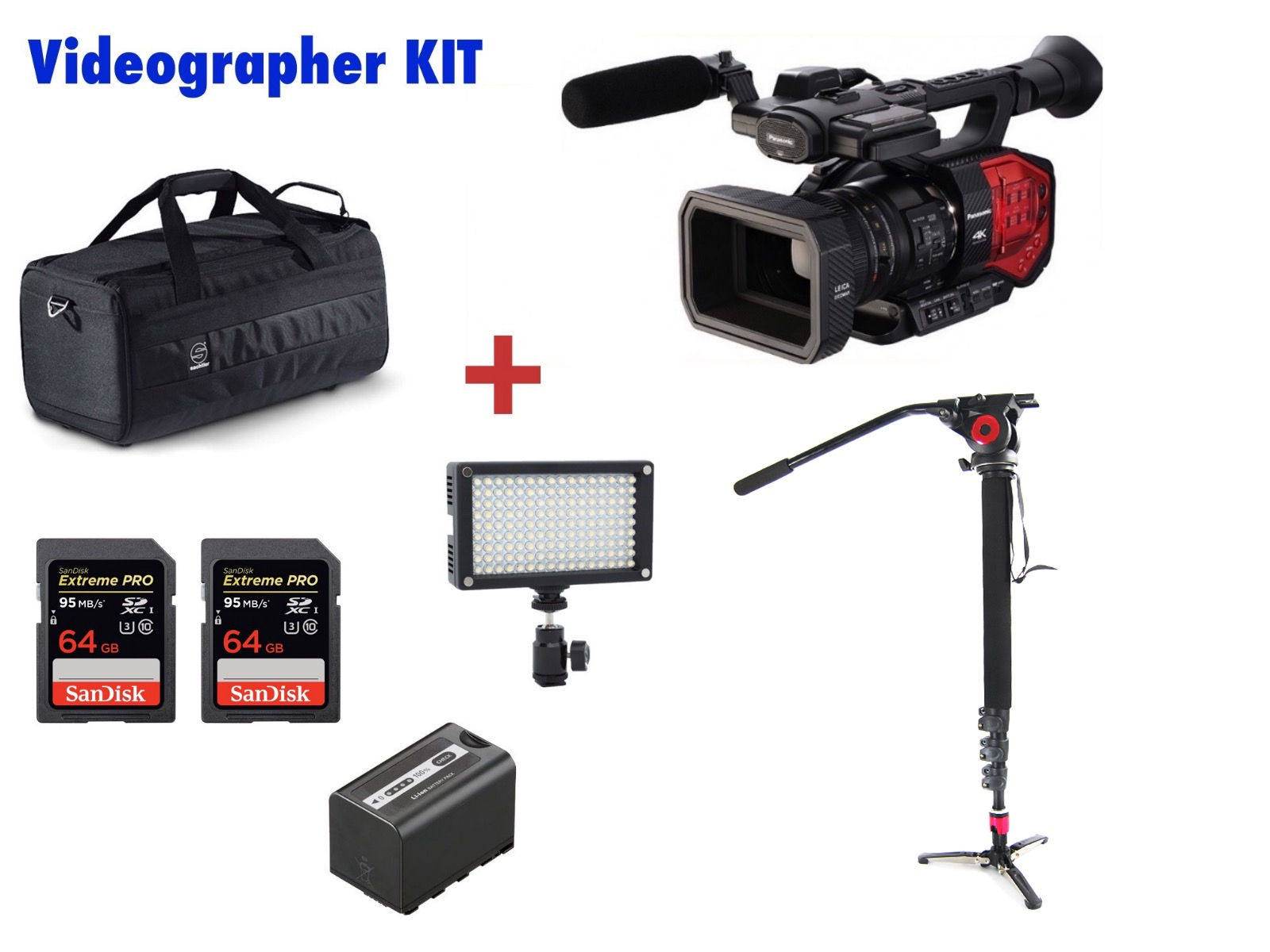 PANASONIC  AG-DVX200 ( DVX200 ) VIDEOGRAPHER KIT