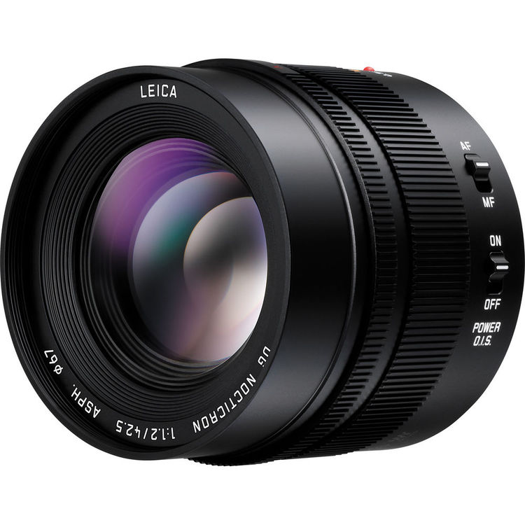 Panasonic LEICA DG NOCTRICON 42.5mm f/1.2 ASPH Power OIS