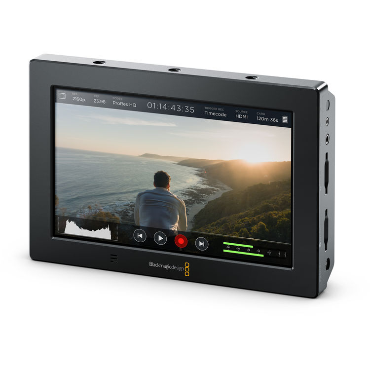 Blackmagic Design Video Assist 4K Recorder + 7 inch Monitor