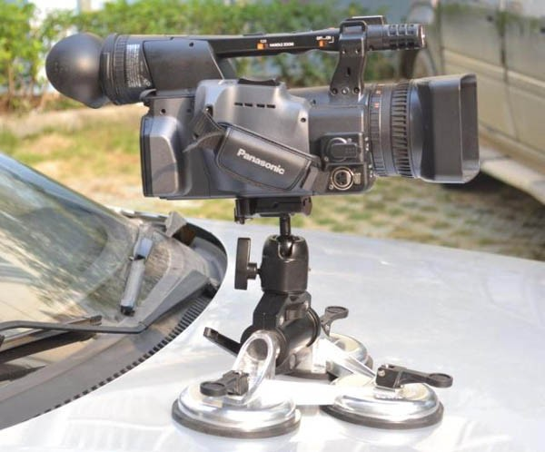 CAME-TV XP-3 HEAVY DUTY 3 SUCTION CUP CAR RIG ( MOUNT ) FOR VIDEO EQUIPMENT