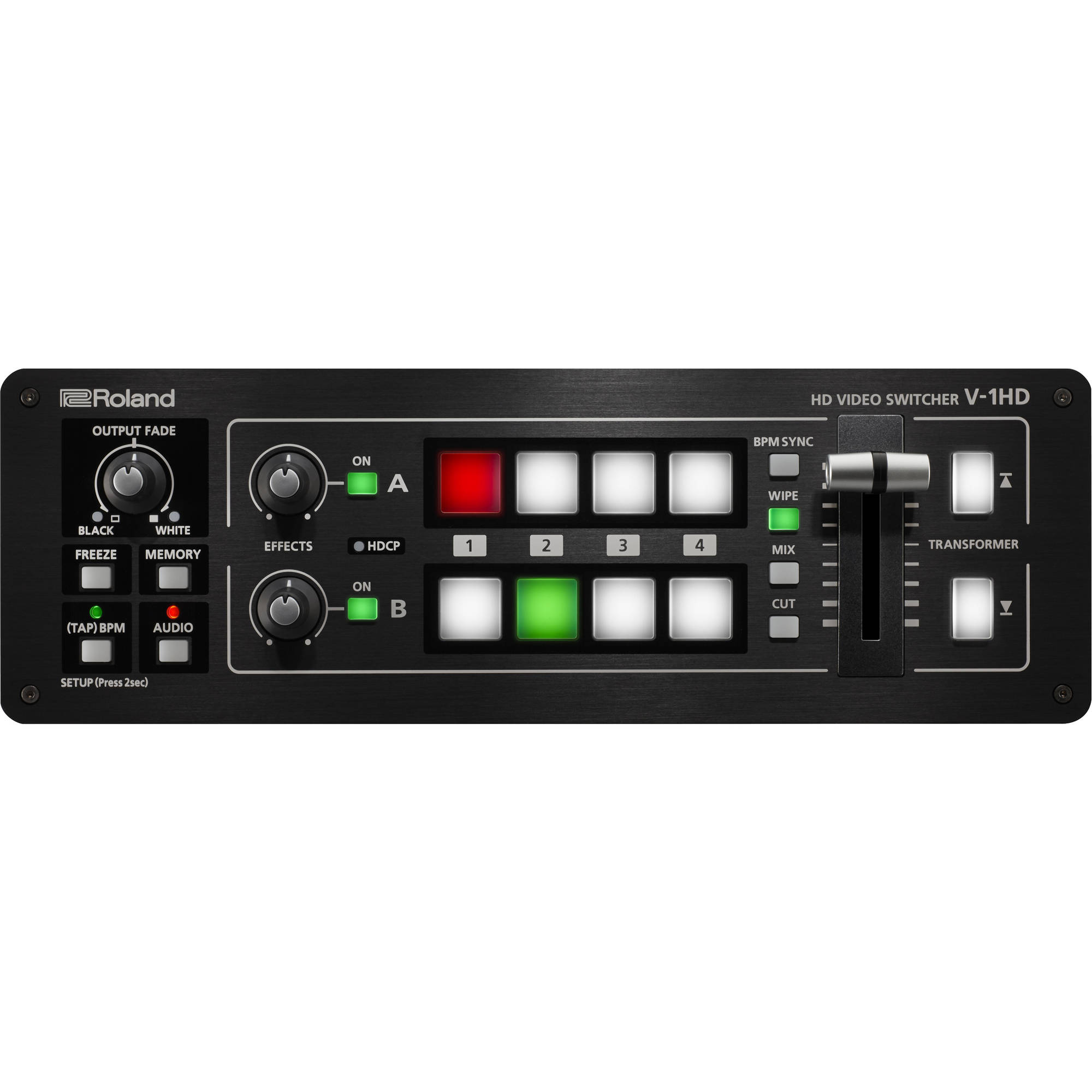 ROLAND V-1HD (V1HD) PORTABLE 4 x HDMI Input Video Switcher