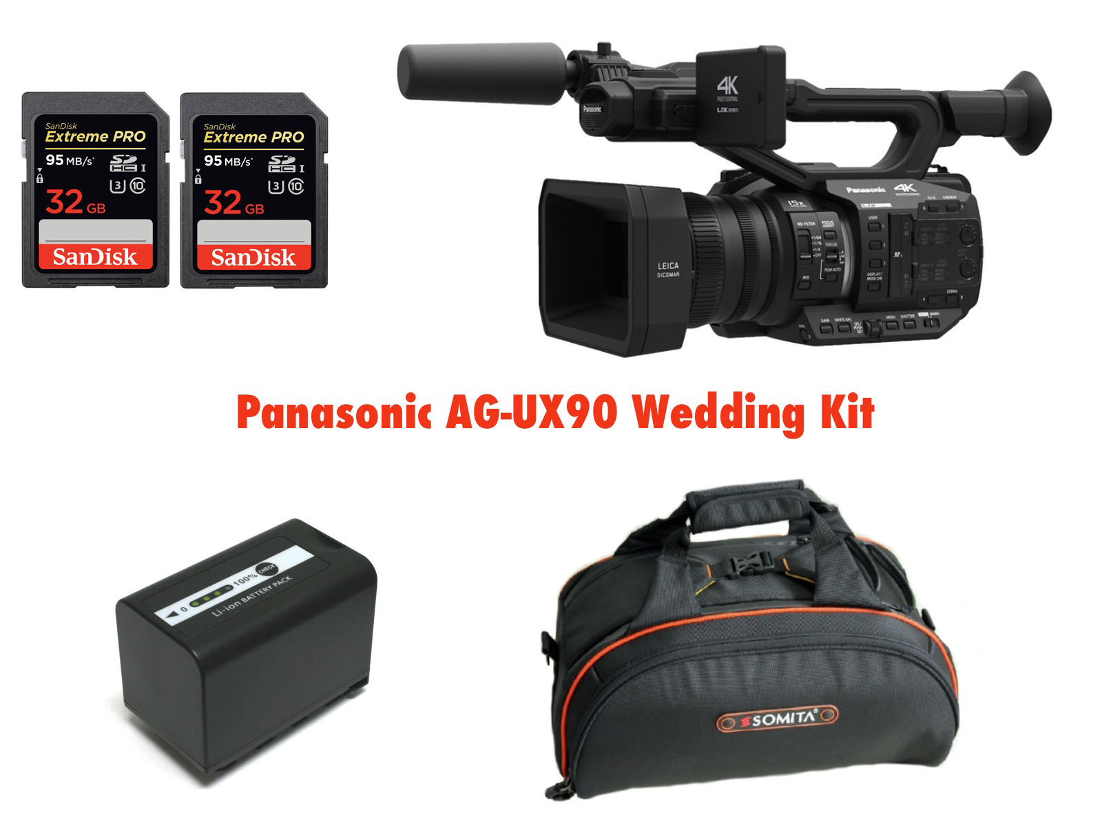 PANASONIC AG-UX90 WEDDING KIT 1