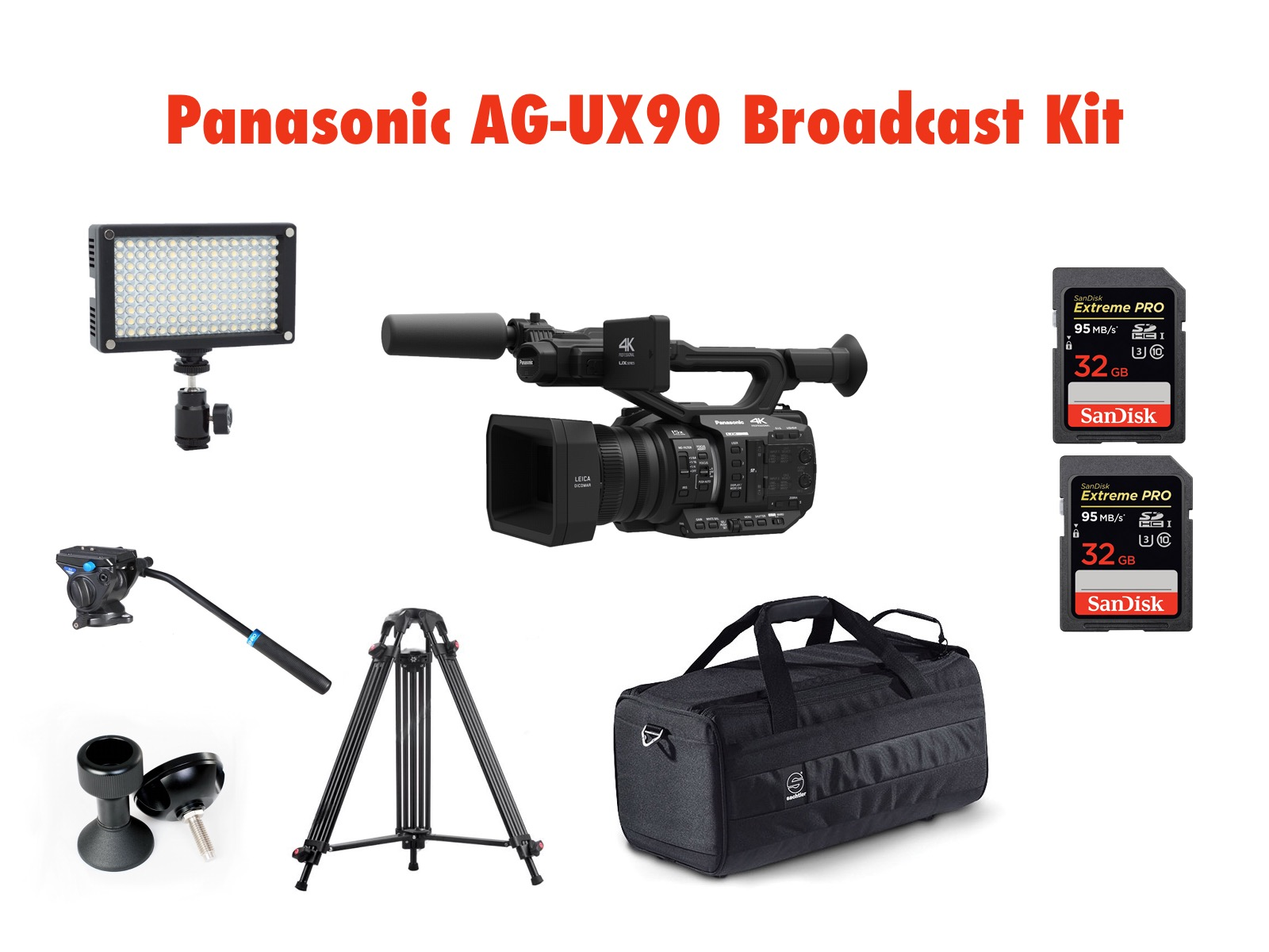 PANASONIC AG-UX90 BROADCAST KIT 2