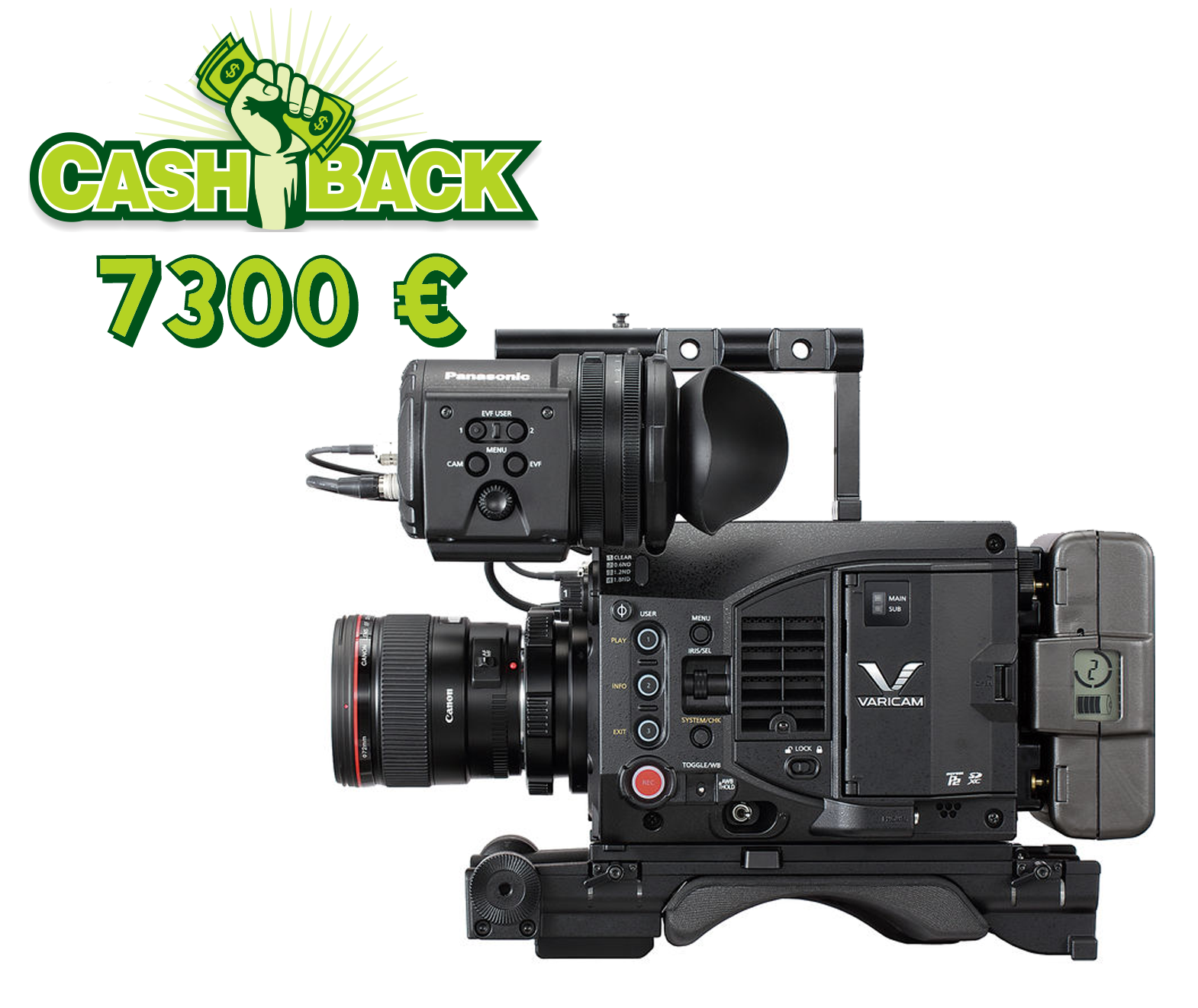 PANASONIC VARICAM LT ProEx Package