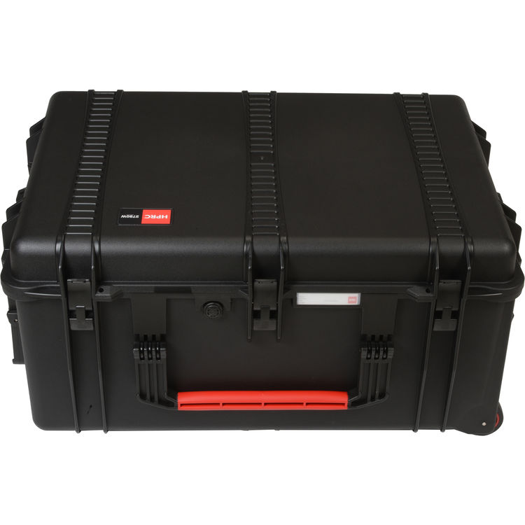 HPRC 2780W WHEELED HARD CASE WITH CUBED FOAM INTERIOR
