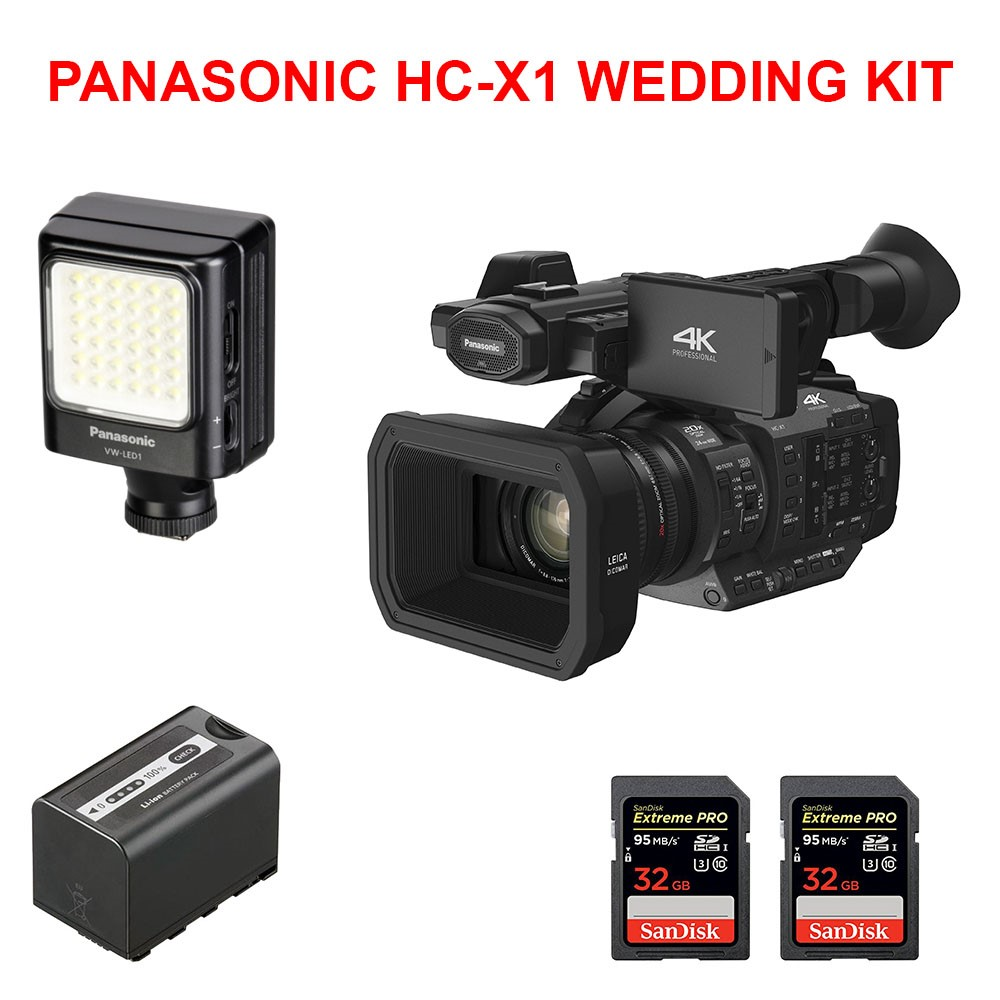 PANASONIC HC-X1 WEDDING KIT